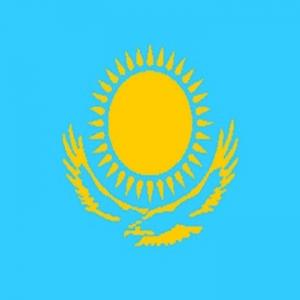 Kazakhstani Flag