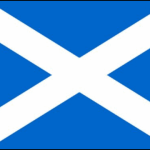 Scotland Flag (Light Blue)