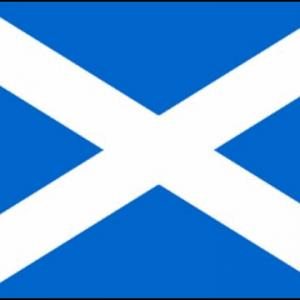 Scotland Flag (Light Blue)