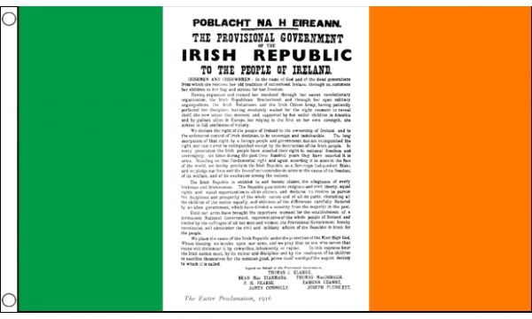 1916 Easter Proclamation Flag