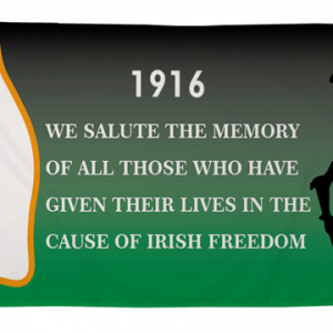 1916 Easter Rising Freedom Flag