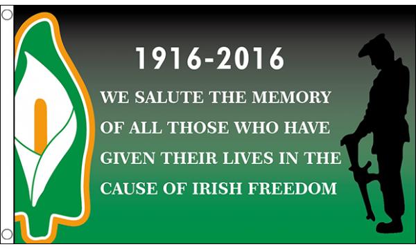 1916 Easter Rising Freedom Flag