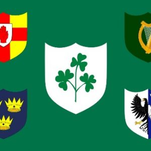 Ireland Rugby Flag
