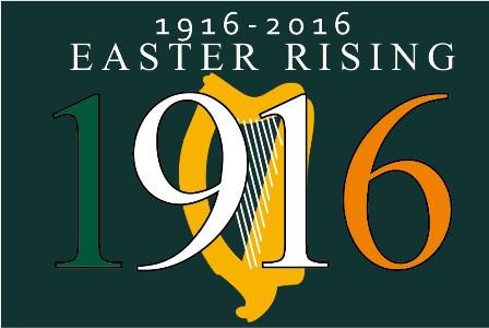 1916-2016 Easter Rising Centenary Flag