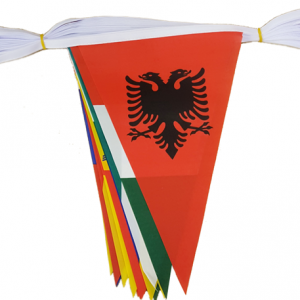 Euro 2016 Bunting Triangular