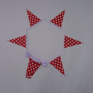 Red & White Polka Dot Bunting
