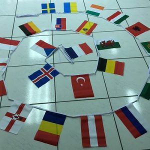 Multi Nations Bunting