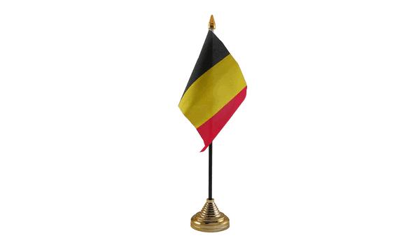 Belgium Table Flag