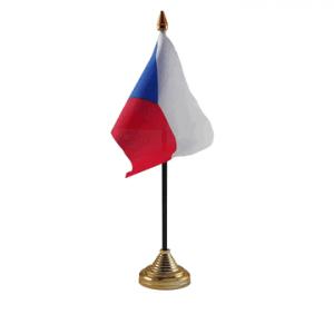 Czech Republic Table Flag