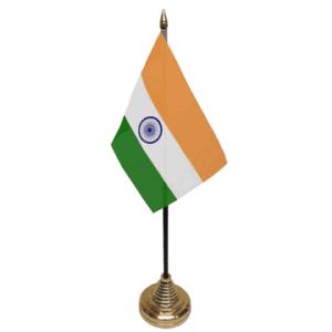 India Table Flag