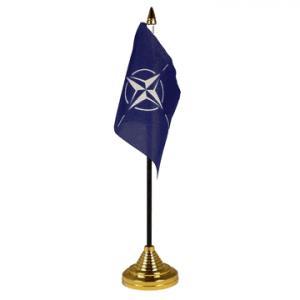 Nato Table Flag