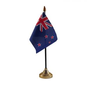New Zealand Table Flag