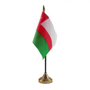 Oman Table Flag
