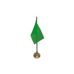 Plain Green Table Flag