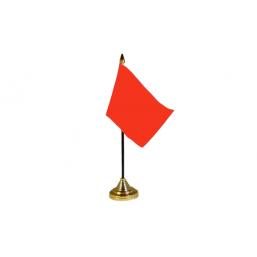 Plain Red Table Flag