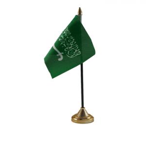 Saudi Arabia Table Flag