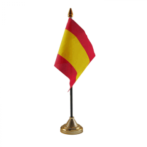 Spain Table Flag