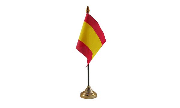 Spain Table Flag