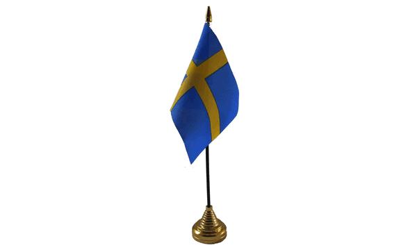 Sweden Table Flag