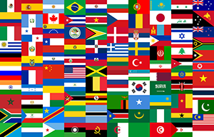 World flags for sale