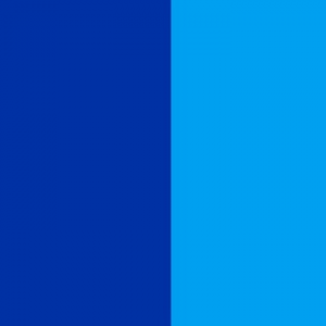 navy and sky blue flag