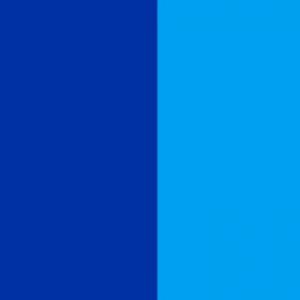 navy and sky blue flag
