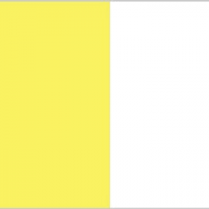 saffron and white flag