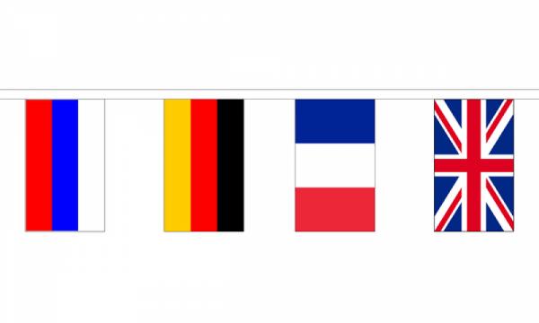 28 European Nations Bunting