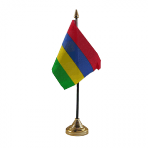 Mauritius Table Flags