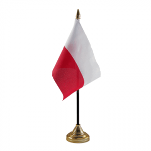 Poland Table Flag