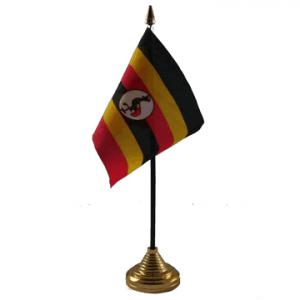 Uganda Table Flags