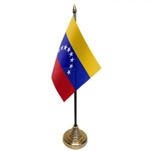 Venezuela Table Flags