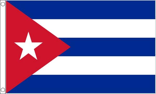Cuba Giant Flag