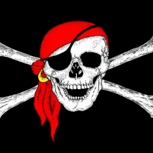 Pirate Bandana Giant Flag
