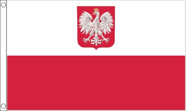 Poland Crest Giant Flag