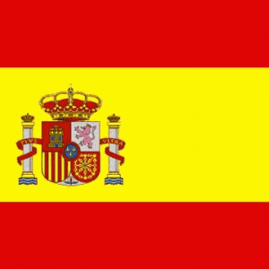 Spanish Giant Crested Flag