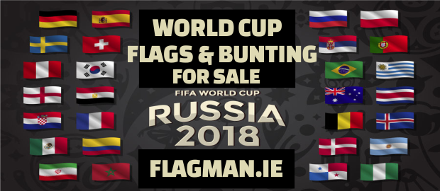 2018 World Cup Flags & Bunting