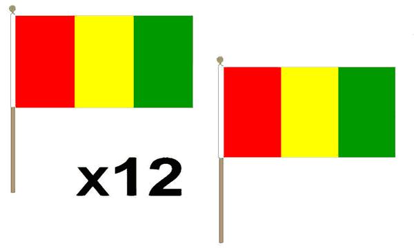 Carlow Hand Waving Flags