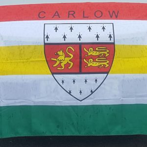 Carlow Crested Flag