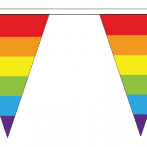 Rainbow Triangle Bunting