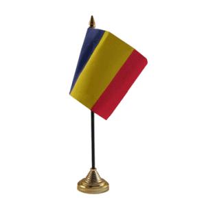 Romania Table Flag