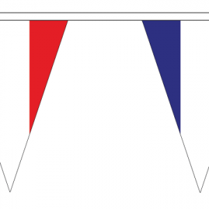 France Bunting Triangular