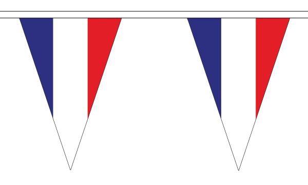 France Bunting Triangular