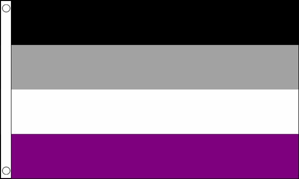 Asexual Flag