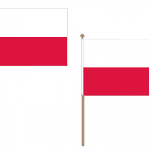 Poland Hand Waving Flags