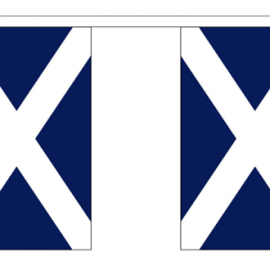 Scotland Bunting (Navy Blue)