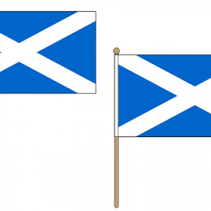 Scotland (Light-Blue) Hand Waving Flags