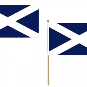 Scotland (Navy Blue) Hand Waving Flags