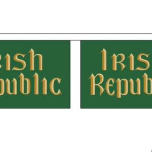 Easter Rising Irish Republic Bunting