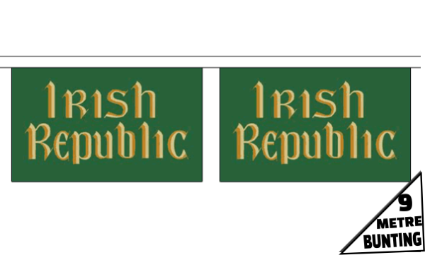 Easter Rising Irish Republic Bunting